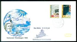 Nederland 1983 Speciale Envelop Den Helder Nationale Vlootdagen Met NVPH 1285-1286 - Period 1980-... (Beatrix)