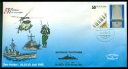 Nederland 1985 Speciale Envelop Den Helder Nationale Vlootdagen Met NVPH 1333-1334 - Period 1980-... (Beatrix)