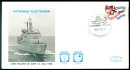 Nederland 1989 Speciale Envelop Den Helder Nationale Vlootdagen Met NVPH 1423 - Period 1980-... (Beatrix)