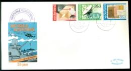 Nederland 1981 Speciale Envelop 25 Jaar Nationale Vlootdagen Met NVPH 1220-1222 - Periode 1980-... (Beatrix)