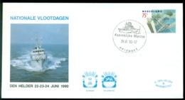 Nederland 1990 Speciale Envelop Den Helder Nationale Vlootdagen Met NVPH 1450 - Period 1980-... (Beatrix)