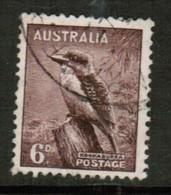 AUSTRALIA  Scott # 173a VF USED (Stamp Scan # 452) - 1937-52 George VI