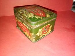 RARE ! ANCIENNE BOITE MÉTALLIQUE ANGLAISE  IMPROVED RING TRAVELLERS MANCHESTER Voir Photos - Boxes