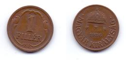 Hungary 1 Filler 1936 - Hongrie