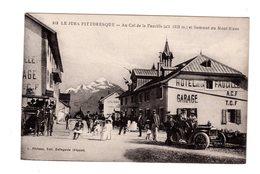 CPA 39 - Au Col De La Faucille ( Alt 1323 M ) Et Sommet Du Mont Blanc , Belle Animation - France