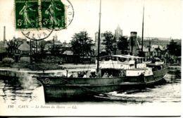 N°2672 A -cpa Caen -le Bateau Du Havre- - Caen