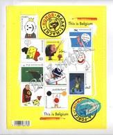 Humor Maakt Macht , Humour Fait La Force , This Is Belgium  2011 - Carnets 1953-....