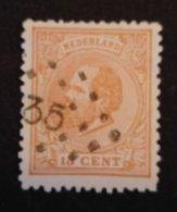 Nederland/Netherlands - Nr. 23H Met Puntstempel 35 - 1852-1890 (Guillaume III)