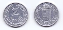 Hungary 2 Pengo 1941 - Hongrie