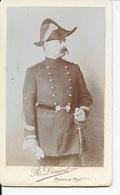 Officier Supérieur Du 22 ème Régiment , Photo DINANT , Châteauroux - Guerre, Militaire
