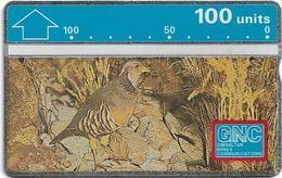 Gibraltar - GNC - Barbary Partridge - L&G - 230A - 1992, 100 Units, 10.000ex, Mint - Gibraltar