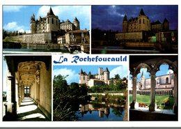 16 LA ROCHEFOUCAULD LE CHATEAU FONDE EN 1026  MULTI-VUES - Autres Communes