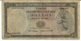 Nota 500 Escudos 25-04-1963 Timor - Timor