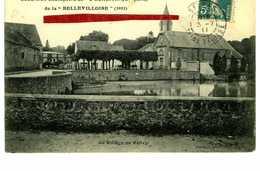 """VELIZY-  Excursion Champêtre De """"L'Egalitaire"""" (1910) De La Bellevilloise """"1911"""" - Le Village De Vélizy - Velizy"""