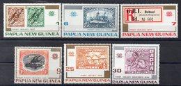 PAPOUASIE NOUVELLE GUINEE  Timbres Neufs ** De 1973   ( Ref 6067 ) Timbre Sur Timbre - Papouasie-Nouvelle-Guinée