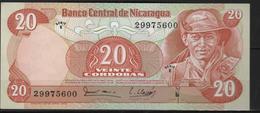 B 89 - NICARAGUA Billet De 20 Cordobas état Neuf - Nicaragua