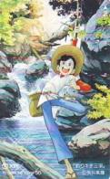 Télécarte Japon * MANGA * FISHING BOY  (16.716)  COMIC * ANIME Japan PHONECARD * CINEMA * FILM - BD