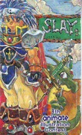 Télécarte Japon * MANGA * ILLUSTRATION CONTEST  (16.720)  COMIC * ANIME Japan PHONECARD * CINEMA * FILM - BD