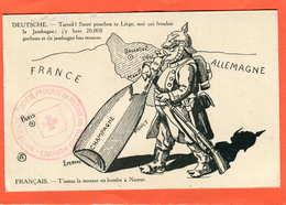 """""""Champagne""""    Cachet Croix Rouge   ..397 - Rode Kruis"""