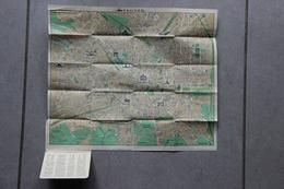 Plan De Milan (Lombardie, Italie), 1951 - Cartes