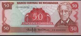 B 90 - NICARAGUA Billet De 50 Cordobas état Neuf - Nicaragua
