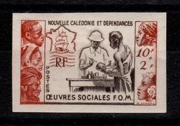 Nouvelle Calédonie - YV 278 Non Dentelé N** Oeuvres Sociales Cote 35+ Euros - Imperforates, Proofs & Errors