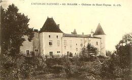 Cpa BILLOM 63 Château De Haut Teyras - France