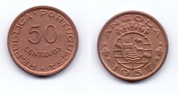 Angola 50 Centavos 1957 - Angola