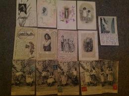 Lot De 15 Cartes Femmes Enfants - Fancy Cards