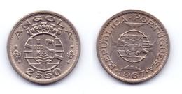 Angola 2 1/2 Escudos 1967 - Angola