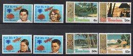 FIDJI  Timbres Neufs ** De 1979-1980 ( Ref 6070 )  Enfance - Tourisme - Fidji (1970-...)