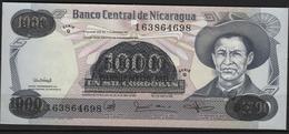 B 93 - NICARAGUA Billet De 1000 Cordobas Surchargé 500.000 état Neuf - Nicaragua