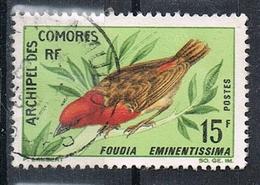 COMORES N°43  Oiseau - Oblitérés