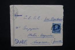 ROUMANIE - Enveloppe De Bucarest Pour Un Soldat Français En 1941 , Contrôle Postal - L 22182 - 2. Weltkrieg (Briefe)