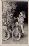 FOTOGRAFIA ORIGINALE - PHOTO - MOTOCICLETTE - MOTORCYCLES - Vedi Retro - Otros