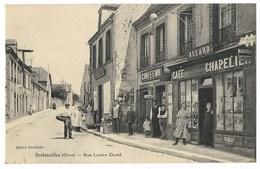 CPA 61 BRETONCELLES Rue Lucien David - Other Municipalities