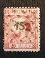Nederland/Netherlands - Nr. 8 IIE Met Puntstempel 152 - 1852-1890 (Guillaume III)