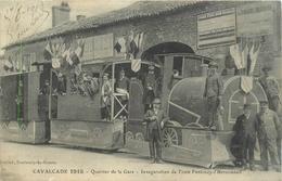 85-Fontenay Le Comte -Cavalcade 1913 Quartier De La Gare-Inauguration Du Tram Fontenay-L'Hermenault - Fontenay Le Comte