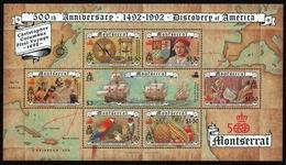 Montserrat 1992 - Mi-Nr. Block 62 ** - MNH - Schiffe / Ships - Columbus - Montserrat