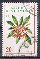 COMORES N°71 Fleur - Oblitérés
