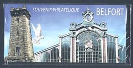 FRANCE 2012 Bloc Souvenir N°89 BELFORT SOUS BLISTER LUXE - Souvenir Blokken