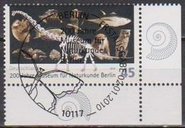 Deutschland 2010 MiNr.2775 O Gest. ESST. 200 Jahre Museum Für Naturkunde, Berlin ( 8655 )günstige Versandkosten - Gebraucht