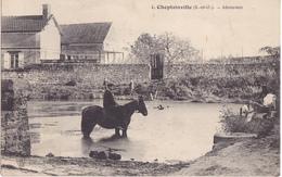 CHEPTAINVILLE   - ABREUVOIR - Frankrijk
