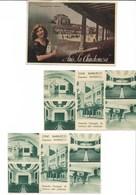 4 Postales Publicitarias Circuladas Por Correo - España