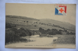 SAINT-MIHIEL-la Meuse Et Le Fort Du Camp Des Romains-timbre Bienfaisance Croix Rouge-bonne Annee 1913 - Saint Mihiel