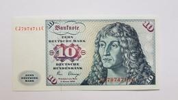10 DM 1980 Ohne © CJ-J Ro281a Kassenfrisch,  UNC - 10 Deutsche Mark