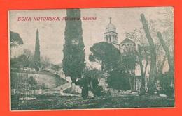 Boka Kotorska Montengro Bocche Cattaro  Monastero Monastir Savina Cpa '1900 - Montenegro