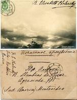 LOTE 7 POSTALES PRINCESA ELISABETH VALERIANOVA OBOLENSKY CIRCULADO RUSIA A URUGUAY CIRCA 1900 -LILHU - Familles Royales