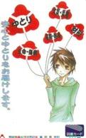 Carte Prépayée Japon * MANGA * Comics *   (16.738)  Japan Prepaid Card * TOSHO Karte * CINEMA * FILM - BD