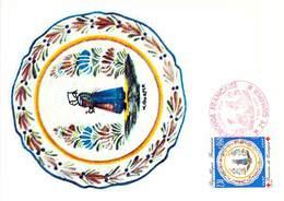 FRANCE CARTE MAXIMUM  NUM.YVERT 2646 CROIX ROUGE 1990 - Maximum Cards